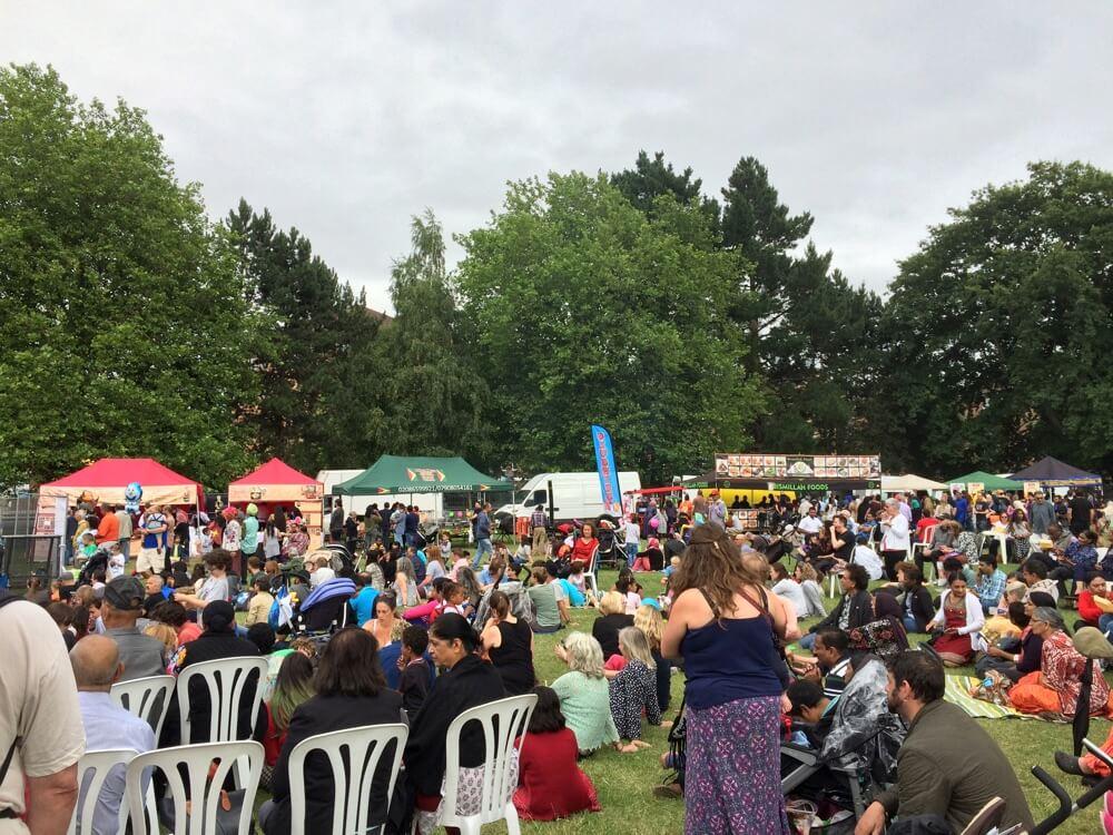 Art Asia (Mela Featival) Food Stalls + Crowd